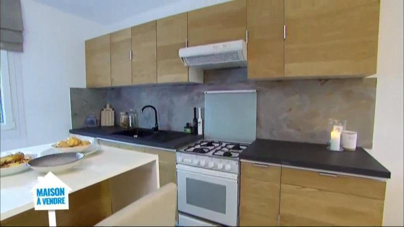 r novation de meuble de cuisine en placage bois sur m6 stickwood lames de bois adh sives et. Black Bedroom Furniture Sets. Home Design Ideas
